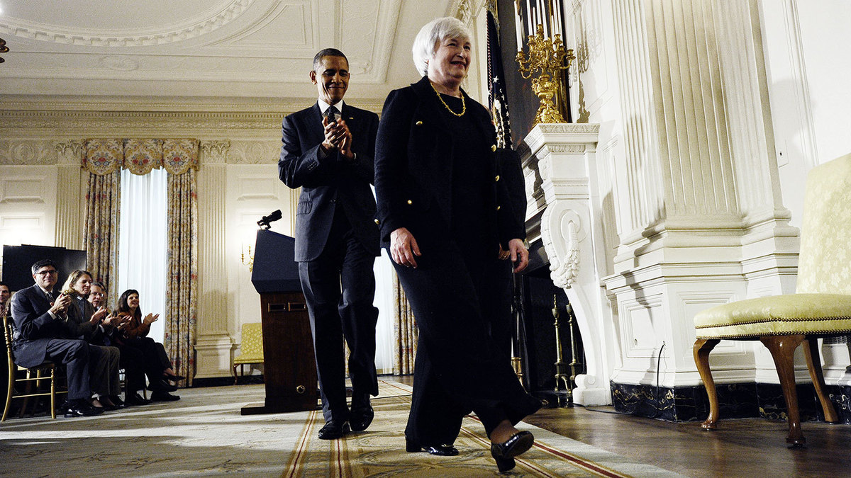 Fed Chairman and Us president meet on US Economy