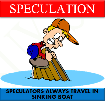 What is speculation means in share market?