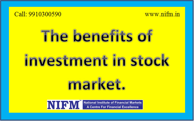 Why should you invest in stock market?