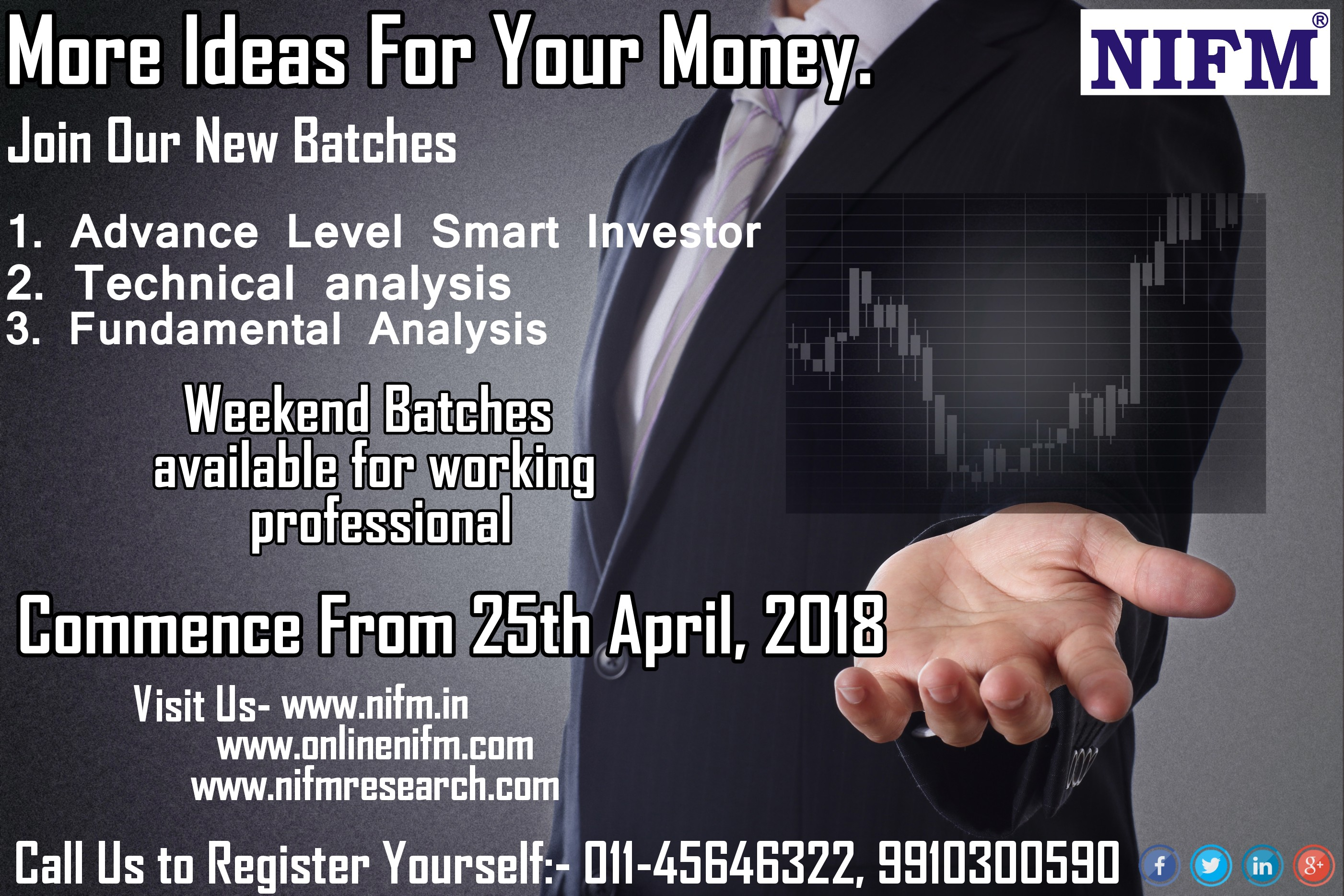 Register Yourself for new Batch, Going to start on 25-04-2018