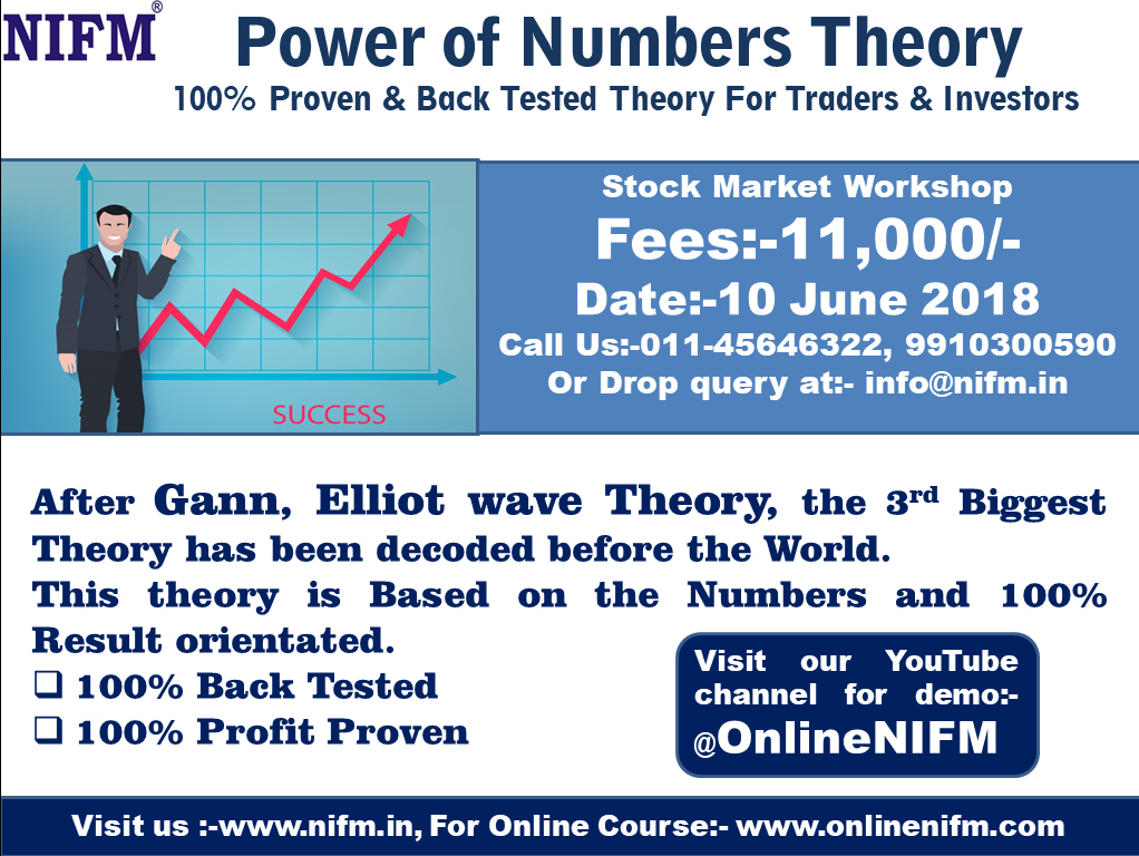 Stock Market WorkShop on Power of Numbers Theory for Traders and Investors