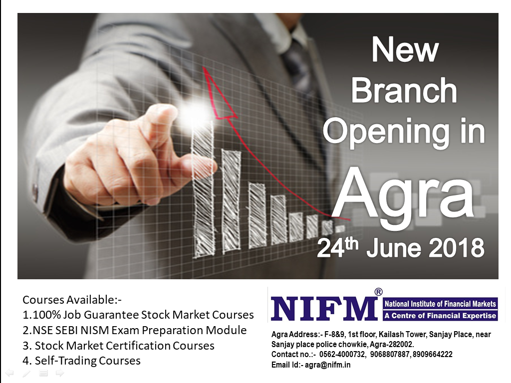 New NIFM Branch opening in Agra, U.P