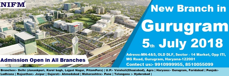 New NIFM Branch Opening in Gurugram, Haryana