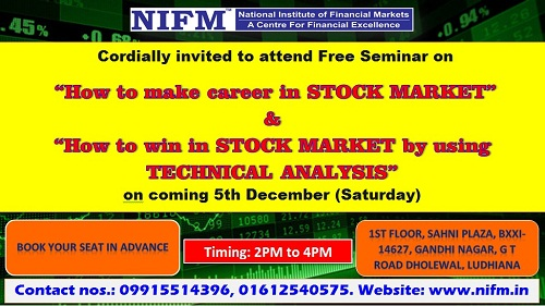 Seminar on Career in stock market and Technical Analysis